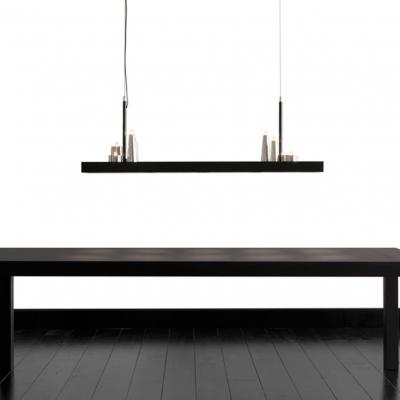 LED Designer Island Light Long Rectangular Base And Charming