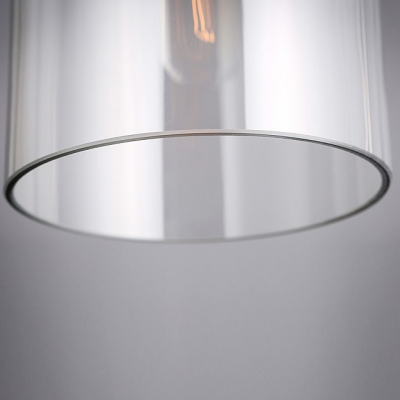 Long Round Mini Industrial LOFT Pendant Light