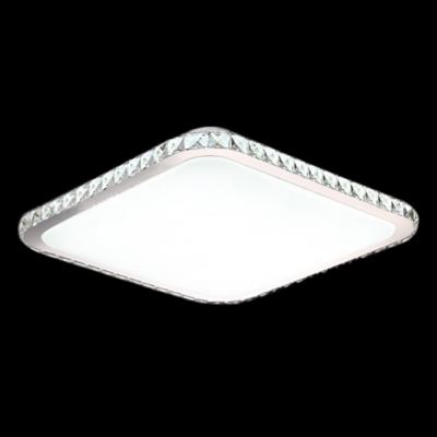 Warm and chic square led flush mount ceiling lights accented by warm and chic square led flush mount ceiling lights accented by champagne crystals aloadofball Gallery