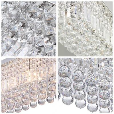 Dazzling Crystal and Chrome Finish Make Pendant Light Fashionable Choice for Nearly Any Room