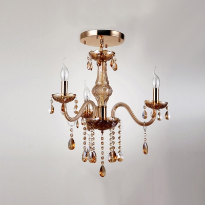 Add Sparkle and Style to Your Home with Delightful Chandelier in Luxury Gold Finish