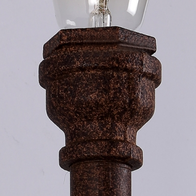 Antique Pipe Torch LED Wall Light in Industry Style