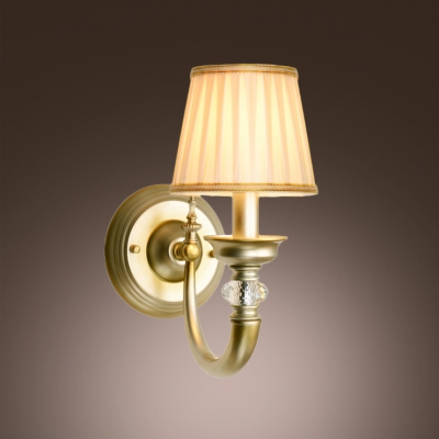 Wall Sconce With Crystal Ball : Eye-catching Wall Light Sconce Adorned with Brass Finish Details and Clear Crystal Ball ...