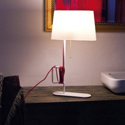Grace and Contemporary Rope Designer Table Lamp