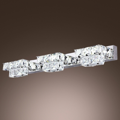 Make Elegant Crystal Bath Light The Highlight Of Your Bathroom Vanity Area