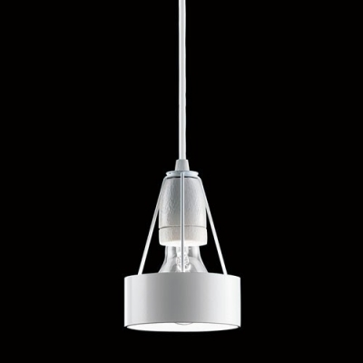 Mini Iron Bulb Style Design Pendant Light