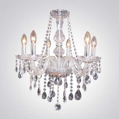 Fashion style crystal chandeliers beautifulhalo chrome finished stunning chandelier in crystal accent style for living room aloadofball Images