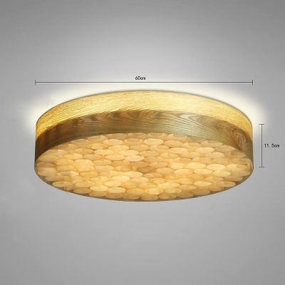 Wood crafted round shape flush mount ceiling light beautifulhalo wood crafted round shape flush mount ceiling light aloadofball
