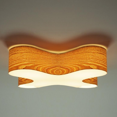 Close To Ceiling Lights: ... Wooden Capital X Novel Close to Ceiling Light ...,Lighting