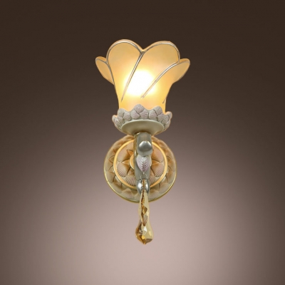 Bathroom Lights Gold Finish fashion style wall sconces crystal lights - beautifulhalo
