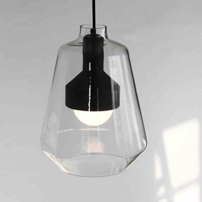 Clear Glass Dome Shape LOFT Mini Pendant Light