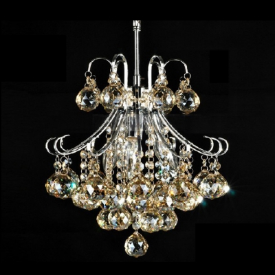 Lovely and sparkling 4 light mini contour crystal and chrome lovely and sparkling 4 light mini contour crystal and chrome chandelier aloadofball Images