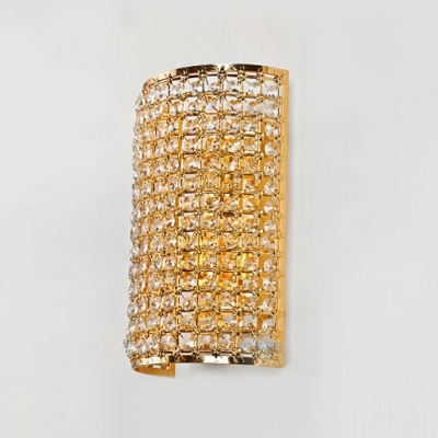 Ravishing Wall Sconce with Gold Finish Exudes High-end Style with Understated Tone