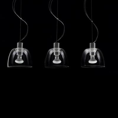 Three-Light Rectangular Cupcake Deign Chic and Charming Multi-Light Pendant
