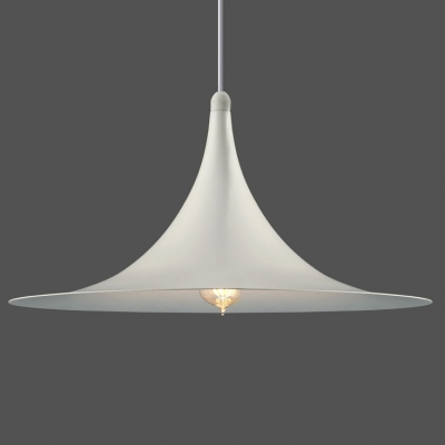 20 wide large semi pendant light