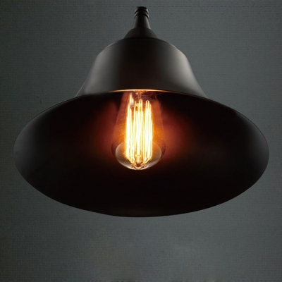 One-Light Pendant Bell Metal Shade