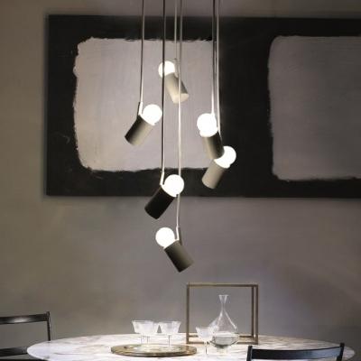 Led mini bulbs multi light pendant white 6 light beautifulhalo led mini bulbs multi light pendant white 6 light aloadofball Images