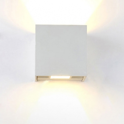 """Adorable and Chic Wrought Iron 3.93""""Wide Designer Cube Wall Light"""
