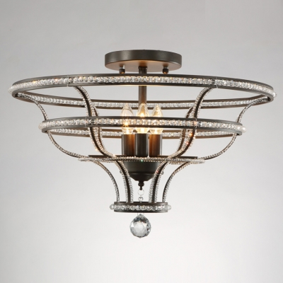Fashion Style Close to Ceiling Lights Crystal Lights – Close to Ceiling Chandeliers