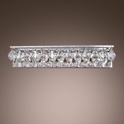 Fashion Style Bath Vanity Lights Crystal Lights Beautifulhalocom - Bathroom vanity lights with shades