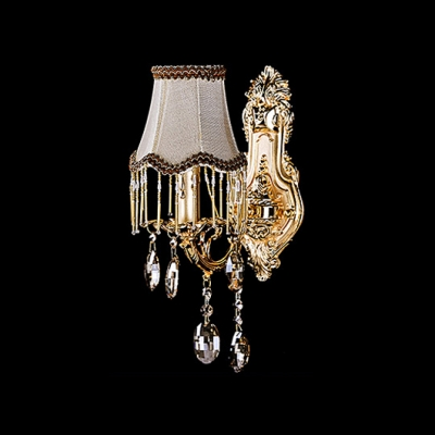 Grand Bold Single Wall Sconce Make Stunning Statement and Elegant Presence