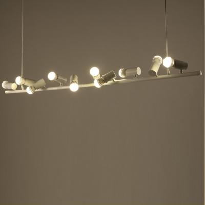 Led Bulbs Island Light White 10-Light