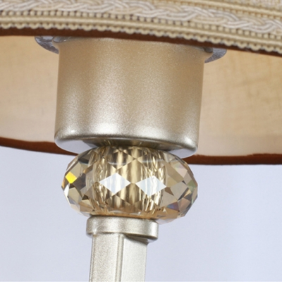 Clear Crystal Drop Brings Stylish Sense of Glamour and Beauty toTimelessWall Sconce
