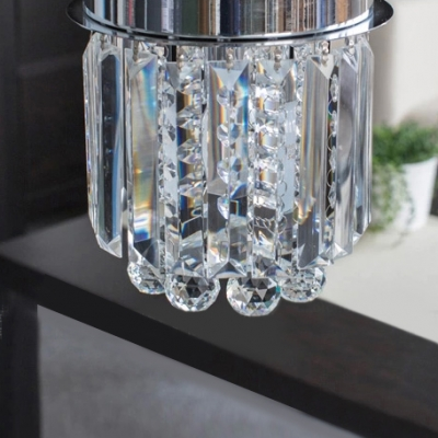 Faceted Crystal Prisms Falling 7