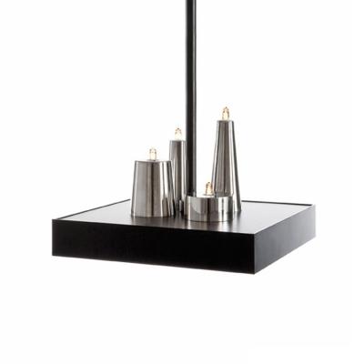 LED Brilliant Designer Pendant Light For Restaurant Four Lights