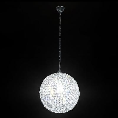 Impact Globe Crystal Beaded Creative Mini Pendant Light for Smaller Space