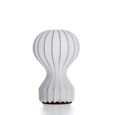 Standing Gourd Shape Table Lamp in Silk