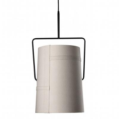 """Cylinder Shade Designer Pendant Light 12.9""""Wide/17.3""""High"""