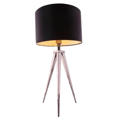 """27.9""""High Drum Shade and Tripod Based Designer Floor Lamps"""