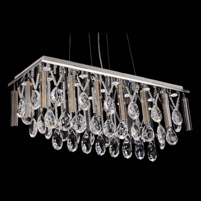 Create Instant Shine with Pendant Light Made of Stunning Hand-cut Polished Crystals