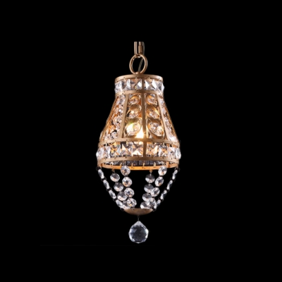 Delicate antique brass finish and graceful crystal beads add charm delicate antique brass finish and graceful crystal beads add charm to splendid mini pendant light mozeypictures Gallery