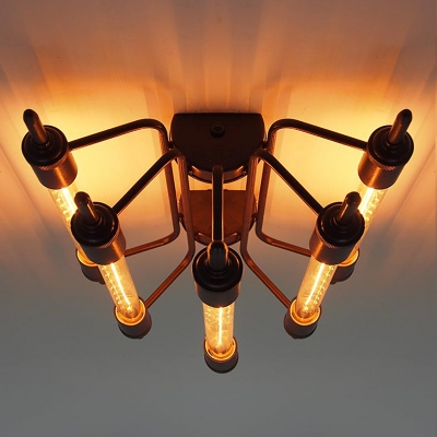 Industrial 5 light close to ceiling light beautifulhalo industrial 5 light close to ceiling light aloadofball Gallery