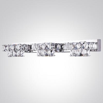 Make Elegant Crystal Bath Light the Highlight of  Your Bathroom Vanity Area
