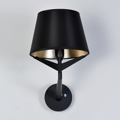 Fabric Shade Bold Design Wall Light 11.8