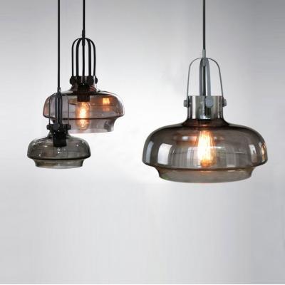 Industrial Style Colored LOFT Glass Pendant Light