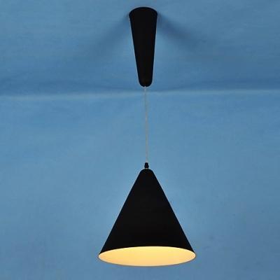 Designer Pendant Light Adjustable And Contemporary Wrought Iron Cone Shade