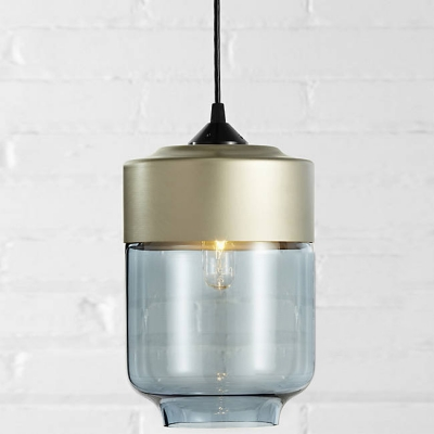 Beautiful Champagne Socket Industrial LOFT Colored Pendant Light