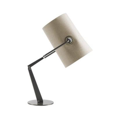 Brilliant Design Classic Fabric Cylinder Shade Designer Table Lamp