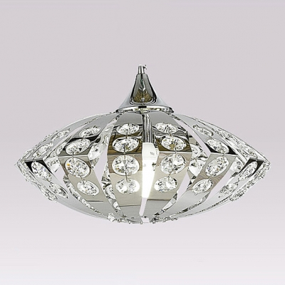 Delicate Clear Crystal Beading Layered over Stainless Steel Frame ...