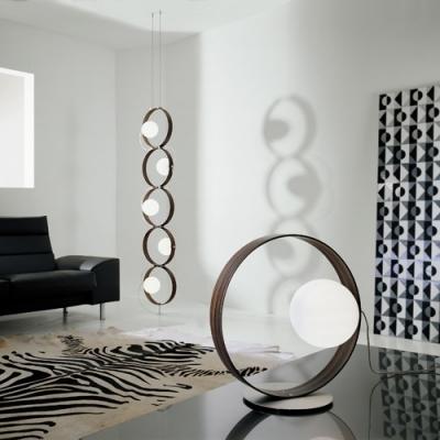 Designer Lighting Ring Shaped Modern Table Lamp