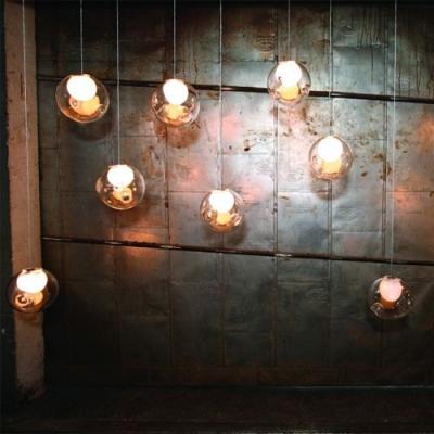 Inner Glass Ball Pendant Light