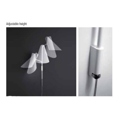 Novelty Design Duck-Bill Shade and Metal Designer Wall Light