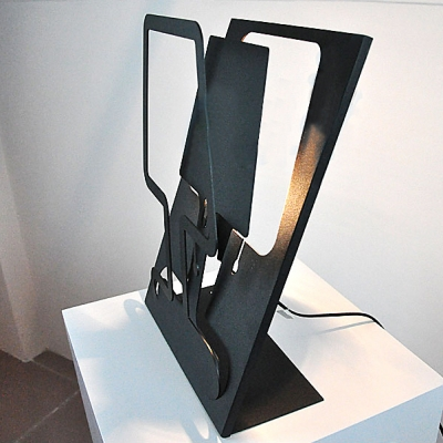 Shadow Wrought Iron Designer Table Lamps in Bold and Charming Design
