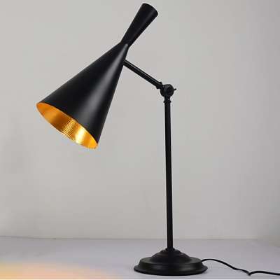 "27.5""High Cone Shaded Designer Table Lamps Great for Restaurant"
