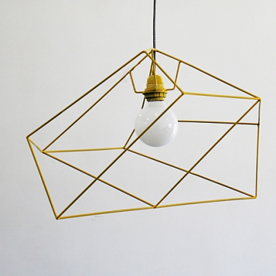 ... Designer Lighting Asymmetric Iron Cage One-light Pendant ... & Designer Lighting Asymmetric Iron Cage One-light Pendant ... azcodes.com