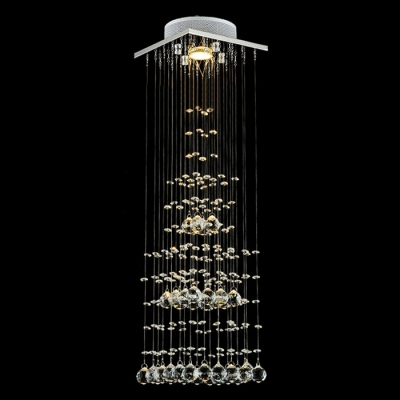 Elegant and Brilliant Crystal Spheres Cloud Tiered 29.5